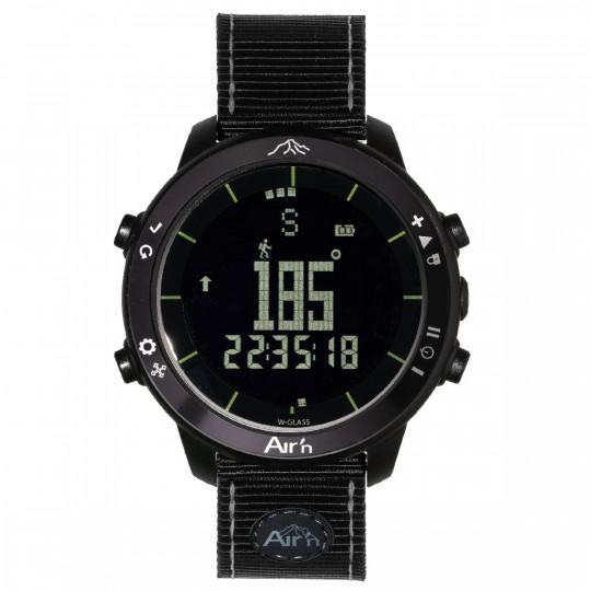 Montre altimètre THEIA BLACK ECLIPSE négatif bracelet nylon Air'N Outdoor
