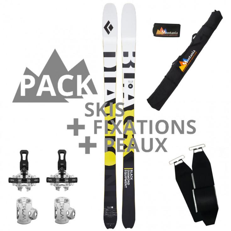 Pack ski de rando HELIO CARBON 88 Black Diamond 2021