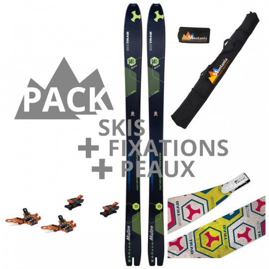 Pack ski de rando MISTICO 90 Carbon Skitrab 2020