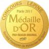 Bâtons monobrin LBA chocolat Alain DESEZ A2-16.com (la paire)