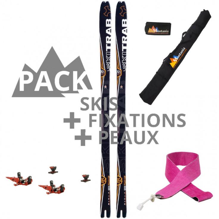 Pack ski de rando course POWERCUP 65 Skitrab 2021