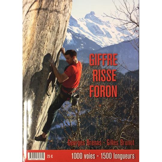 Livre Topo Escalade - Giffre Risse Foron - de Brenas et Brunot 2021