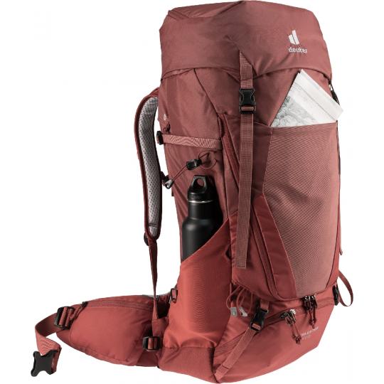Sac à dos randonnée femme FUTURA AIR TREK 45+10 SL redwood-lava Deuter