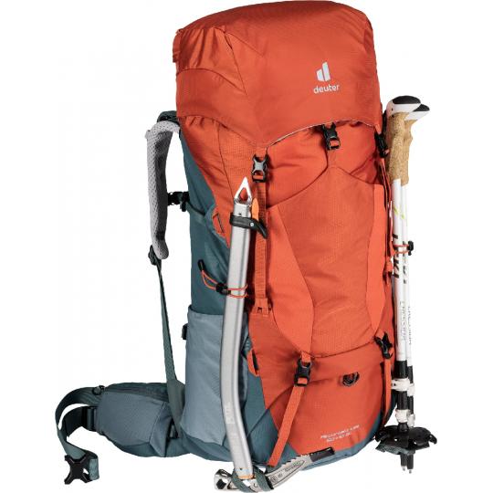 Sac à dos trekking femme Aircontact Lite 60+10 SL paprika Deuter
