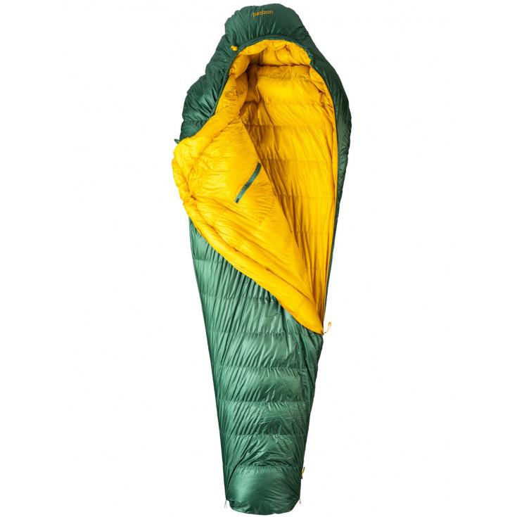 Sac de couchage plume D-Pro Series 290 REG vert 190 Patizon