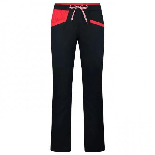 Pantalon femme coton bio TEMPLE PANT W noir La Sportiva