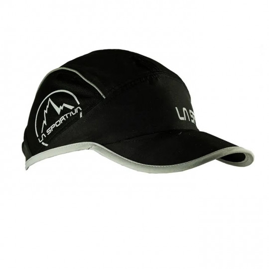 Casquette légère SHIELD CAP noir-grise La Sportiva