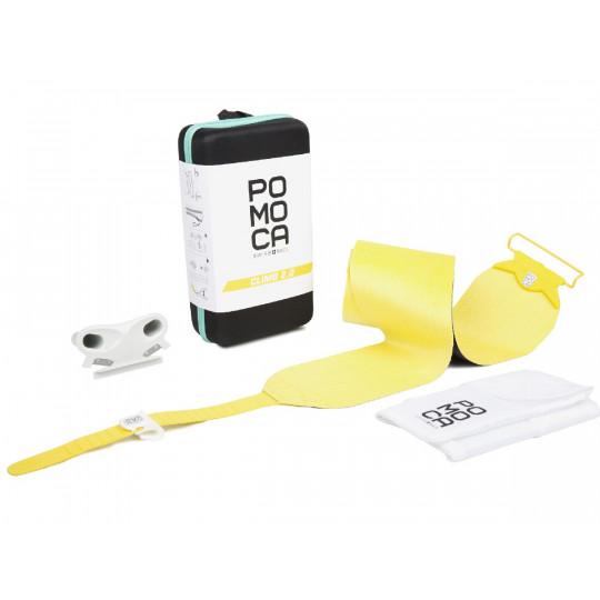 Set de peaux de phoque mixtes CLIMB 2.0 Readytoclimb 110mm jaune POMOCA