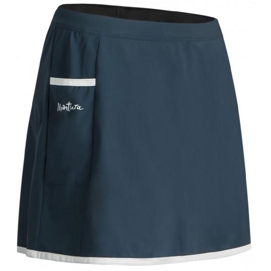 Jupe avec short intégré SENSI MATCH SKIRT WOMAN ash-blue Montura