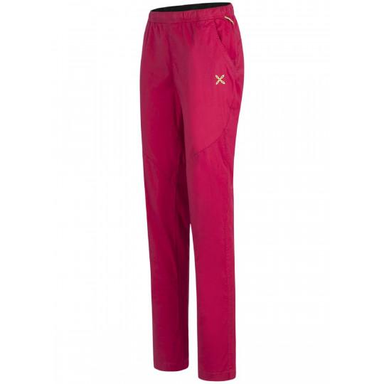Pantalon coton femme M+ LAPSUS PANTS WOMAN sugar-pink Montura