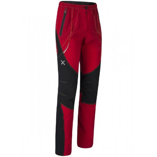 Pantalon Softshell FREE K PANTS rouge Montura