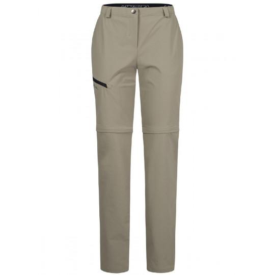 Pantalon de randonnée femme PULSAR ZIP OFF PANTS WOMAN ecru Montura