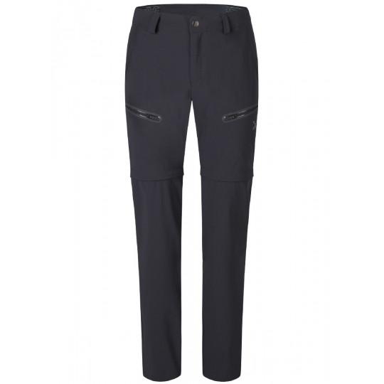 Pantalon de randonnée convertible PULSAR ZIP OFF PANTS slate-grey Montura