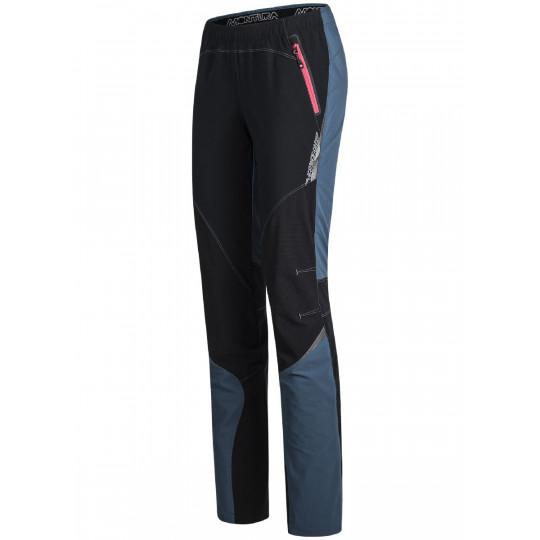 Pantalon Softshell femme VERTIGO LIGHT PANTS WOMAN 8604 ash-pink Montura