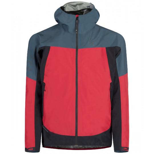 Veste GORE-TEX homme PAC MIND JACKET 2.5L 1086 red-ash blue Montura