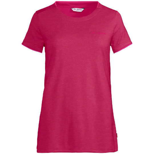 Tee-shirt respirant femme ESSENTIAL crimson-red Vaude