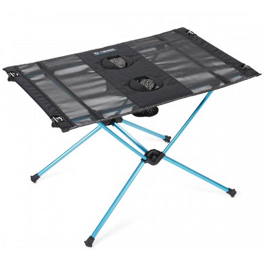 Table de randonnée et camping TABLE ONE black Helinox