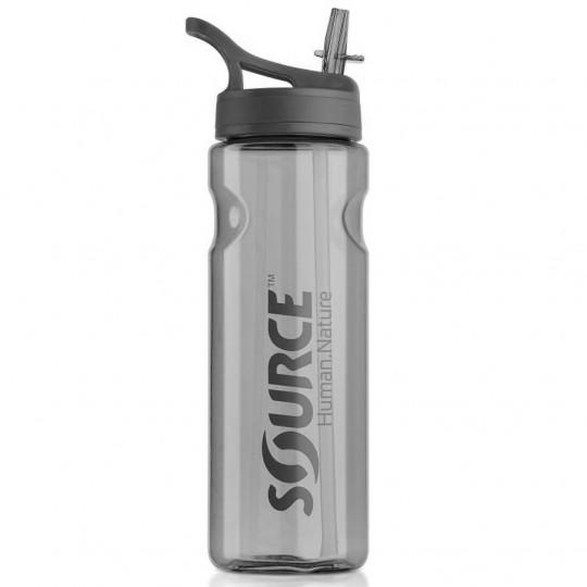 Gourde hydratation TRITAN BOTTLE 0.75L grise SOURCE Outdoor