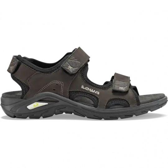 Sandale de randonnée cuir URBANO slate LOWA