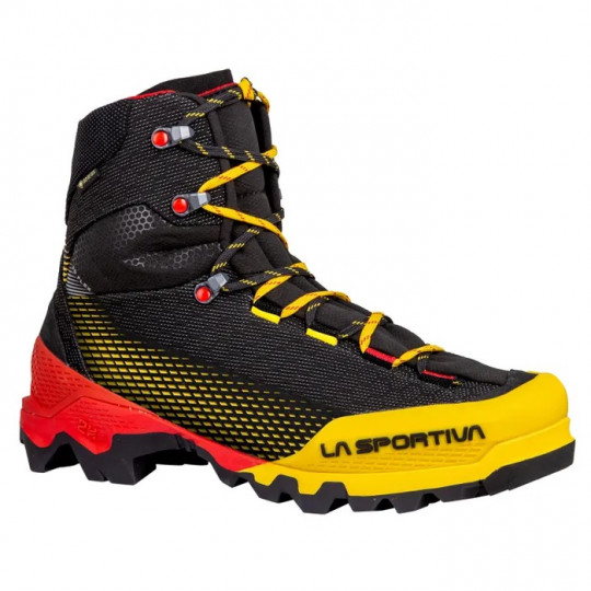 Chaussure cramponnable AEQUILIBRIUM ST GTX black-yellow La Sportiva