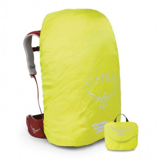 Housse sac à dos Raincover ULTRALIGHT HIGH VIS taille XS 10-20L electric lime Osprey