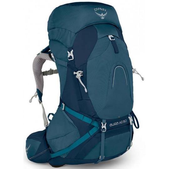 Sac à dos randonnée femme AURA AG 50 challenger-blue Osprey Packs