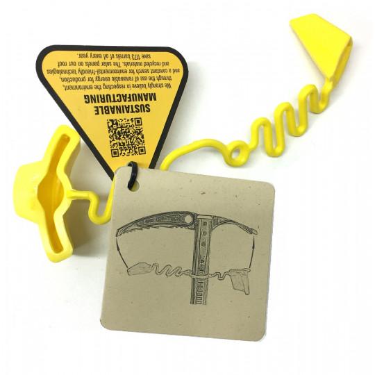 Protection de piolet AXE GUARD jaune Grivel