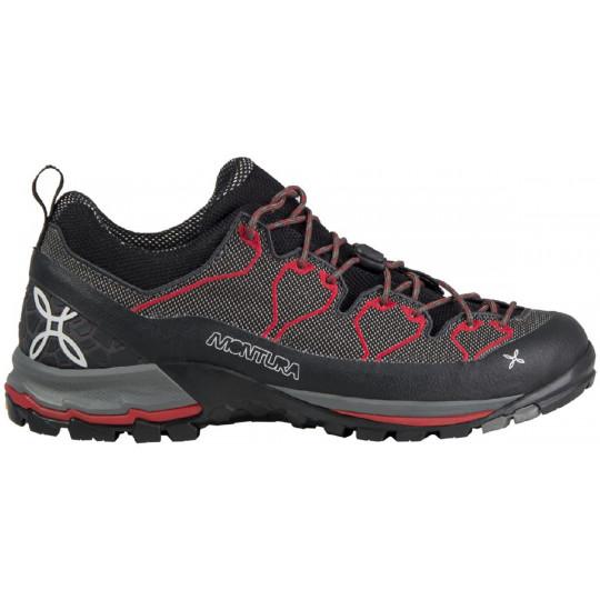 Chaussure YARU AIR gris-rouge Montura