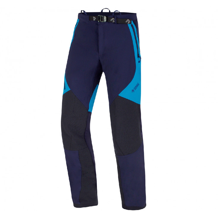 Pantalon softshell CASCADE PLUS 1.0 indigo-brick Directalpine