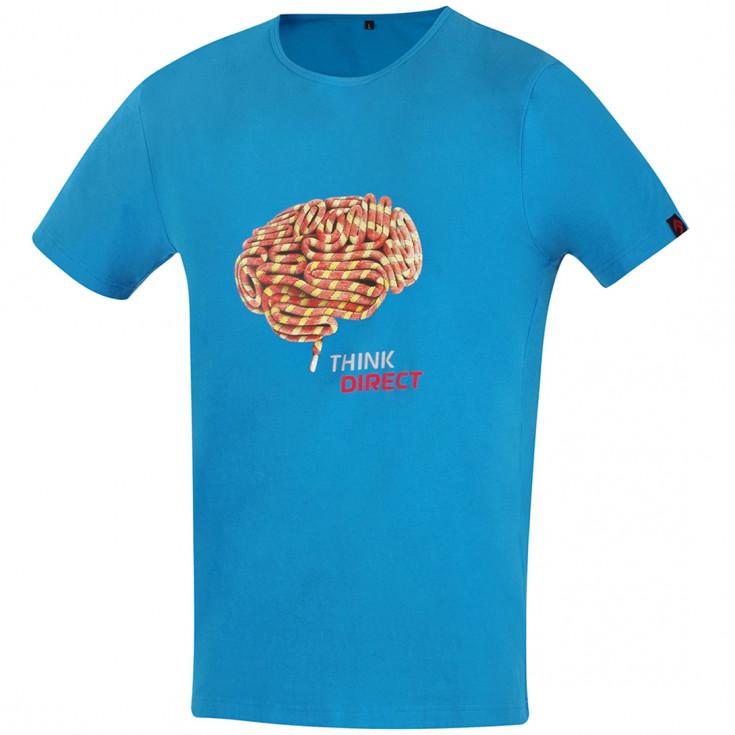 Tee-shirt FLASH-BRAIN bleu DirectAlpine