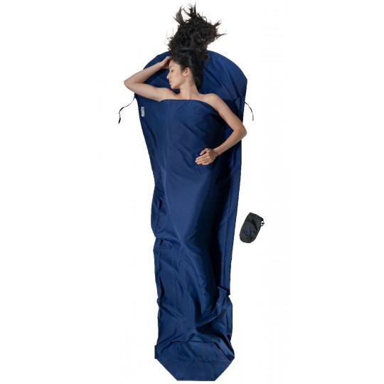Drap de sac MICROFIBRE 100% polyester +3°C Mummyliner twilight-blue COCOON