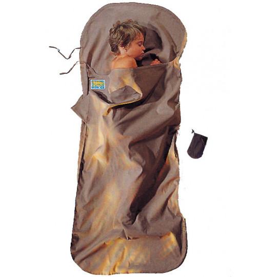 Drap de sac enfant KIDSACK 100% coton +3°C khaki COCOON