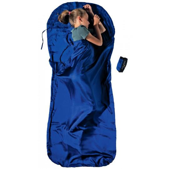 Drap de sac enfant KIDSACK 100% soie +5°C blue COCOON