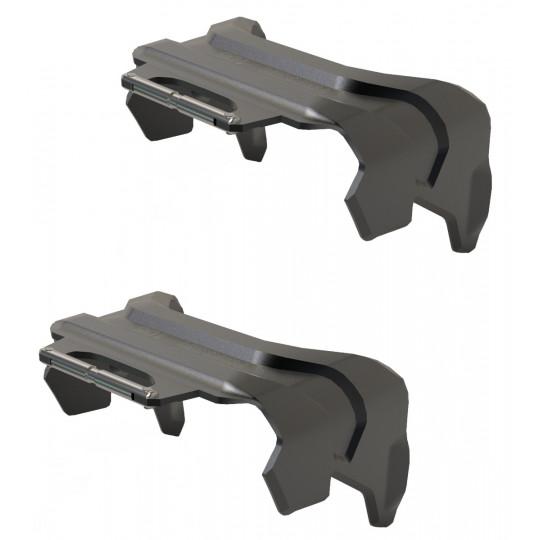 Couteaux PINTECH ALPINIST 120mm Black Marker