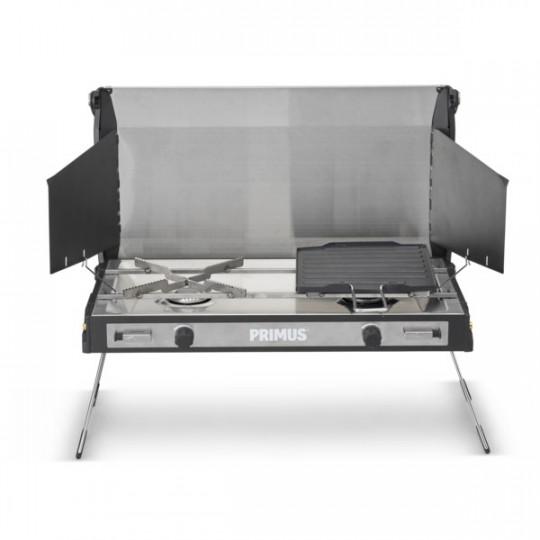 Plaque de cuisson à gaz 2 feux extérieur / camping TUPIKE STOVE Primus