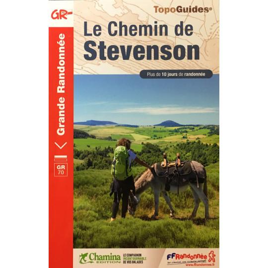 Livre TopoGuides Le Chemin de STEVENSON -GR70- 10 jours de randonnée - FFRandonnée 2021