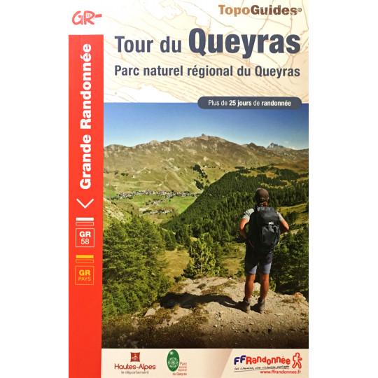Livre TopoGuides TOUR DU QUEYRAS - FFRandonnée 2021