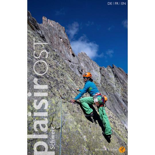 Livre Topo Escalade Suisse PLAISIR OST 2021 - Editions Filidor DE-FR-EN