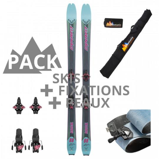 Pack ski de rando femme RADICAL 88 W reef-rose Dynafit 2022