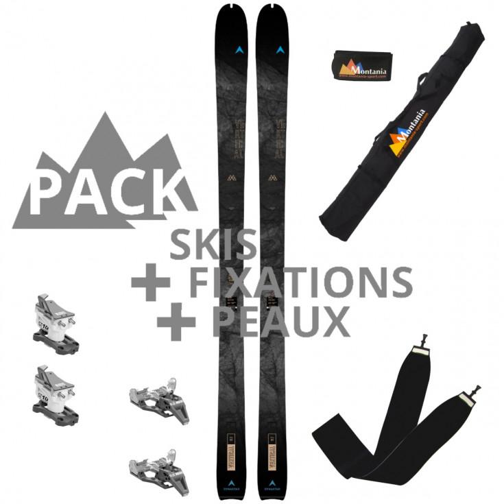 Pack ski de rando M-VERTICAL 82 noir-bleu Dynastar 2022