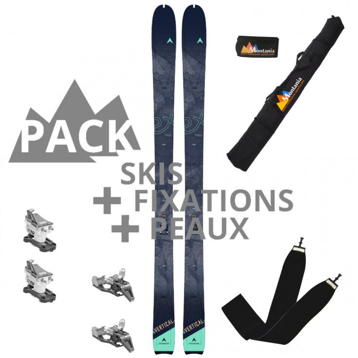 Pack ski de rando femme E-VERTICAL 82 lagoon Dynastar 2022