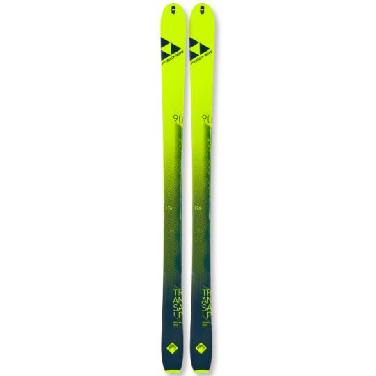 Ski de rando TRANSALP 90 CARBON jaune-vert Fischer 2022
