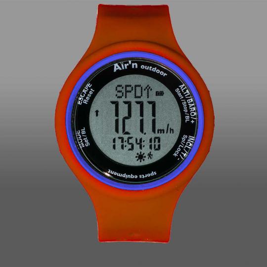 Montre altimètre GRANITA LCD positif red-orange Air'N Outdoor 2021