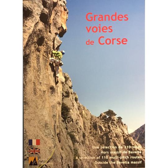 Livre Topo Escalade Grandes Voies de Corse - 110 voies -Maurin-Souchard 2021