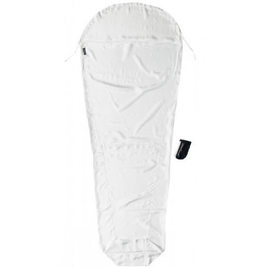 Drap de sac SILK 100% soie +5°C Mummyliner natural COCOON