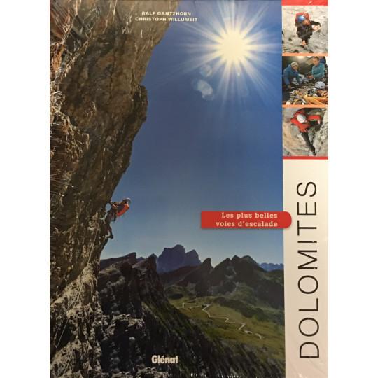 Livre DOLOMITES - Les plus belles voies d'escalade - Editions Glénat