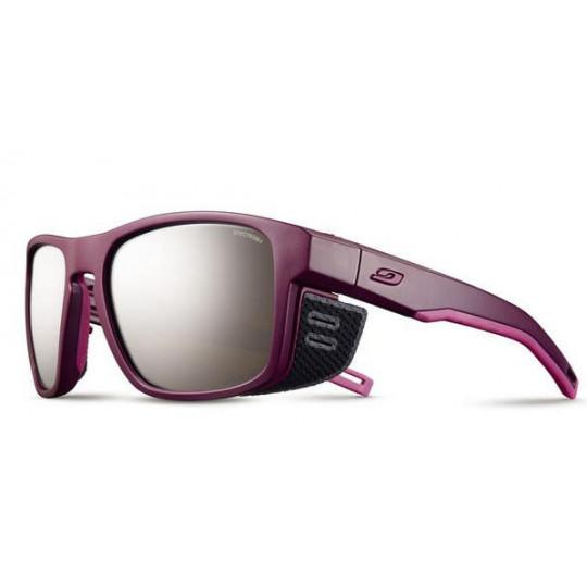 Lunettes de soleil femme SHIELD M violet-rose SPECTRON 4 Julbo