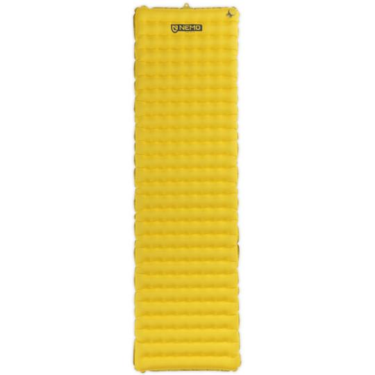 Matelas à gonfler silencieux TENSOR regular WIDE yellow Nemo Equipment