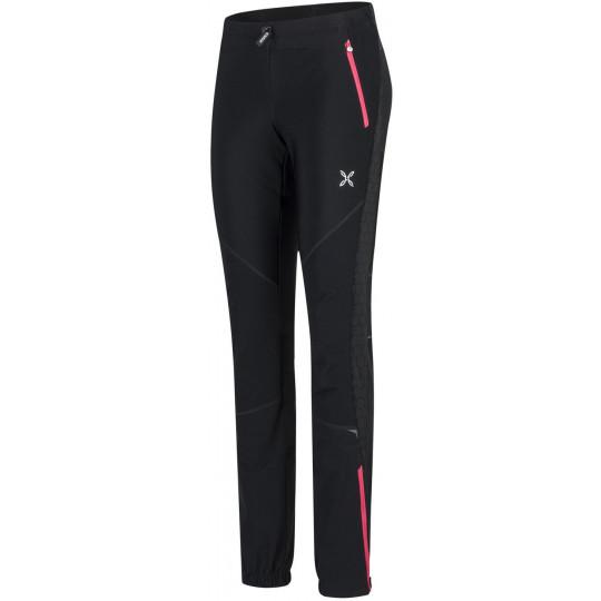 Pantalon Softshell femme EVOQUE 2 PANTS Woman 9004-noir-rose Montura