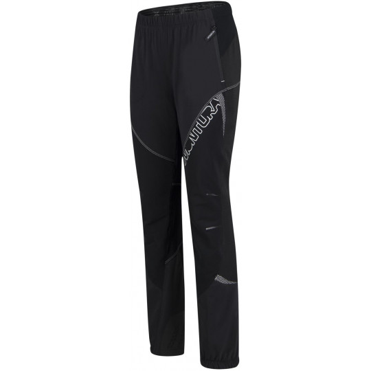 Pantalon Softshell femme UPGRADE 3.0 PANTS WOMAN 9000 noir-blanc Montura